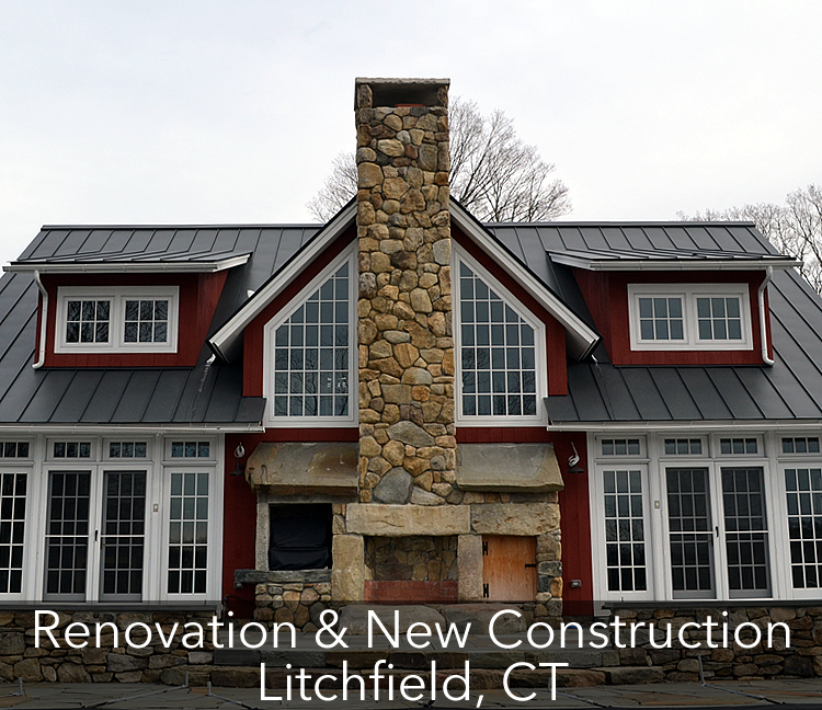 Main House, Pool House & Guest House – Renovation & New Construction, Litchfield, CT